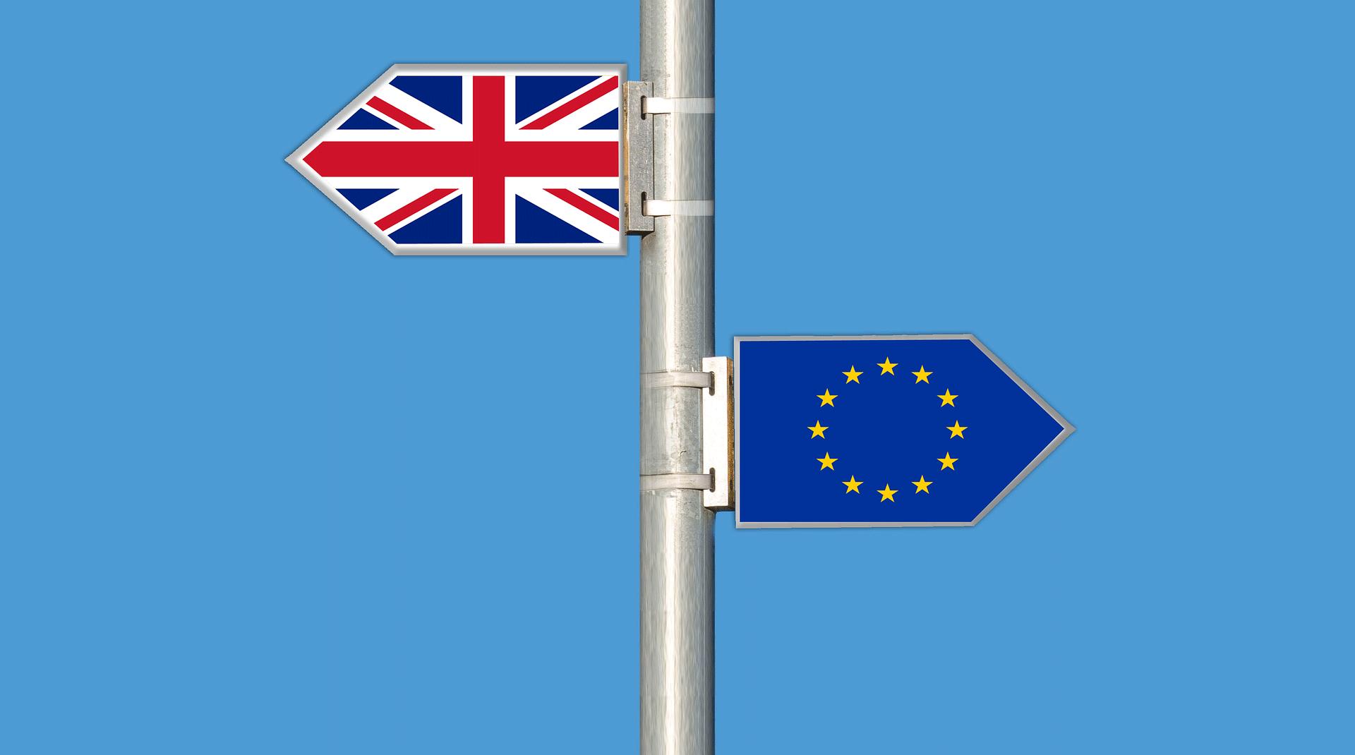 BREXIT UK EU labels