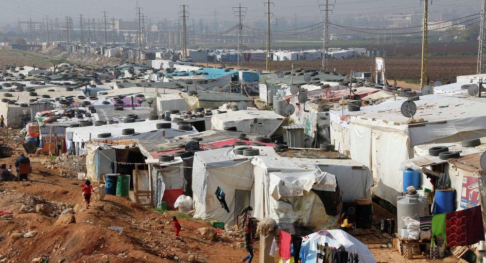 Refugees Lebanon hot-spot