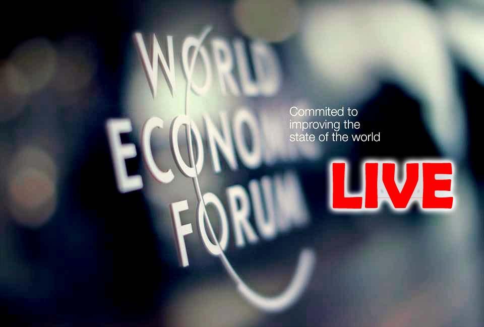 World Economic Forum WEF DAVOS LIVE