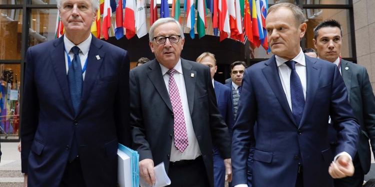 Donald Tusk and Jean Claude Juncker