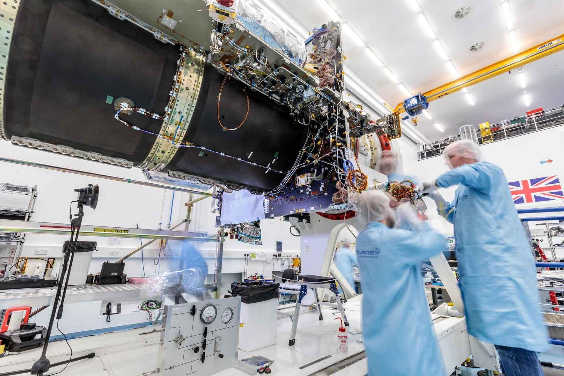 Eutelsat Quantum chameleon ESA European Space Agency
