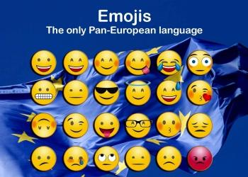 Emojis The only Pan-European language