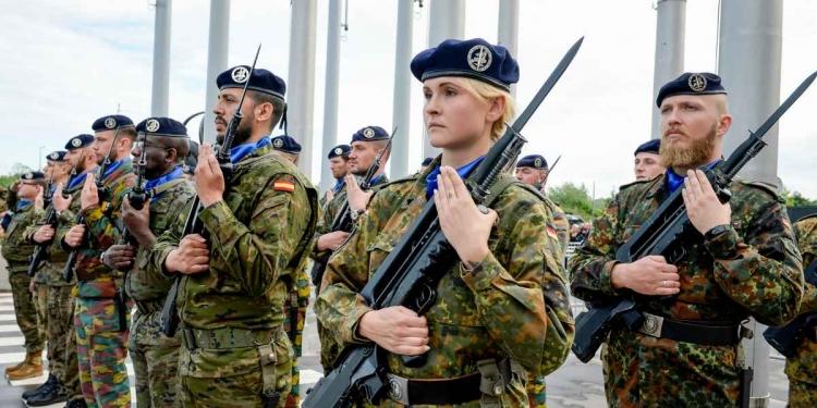 European Army EU Security Defence Eurocorps