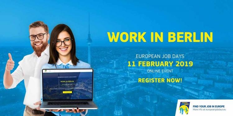 Work in Berlin Event by European Employment Services - European Job Days