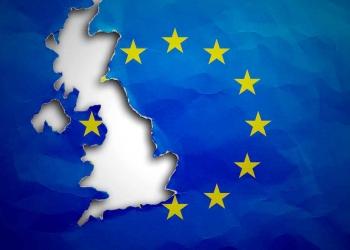 EU flag UK brexit