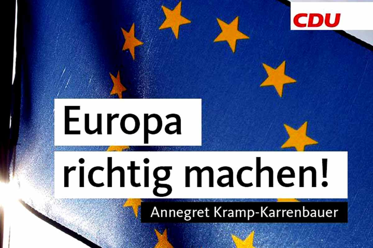 Europa richtig machen - Getting Europe right