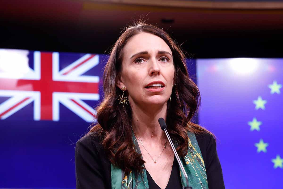 New Zealand Prime Minister Jacinda Ardern