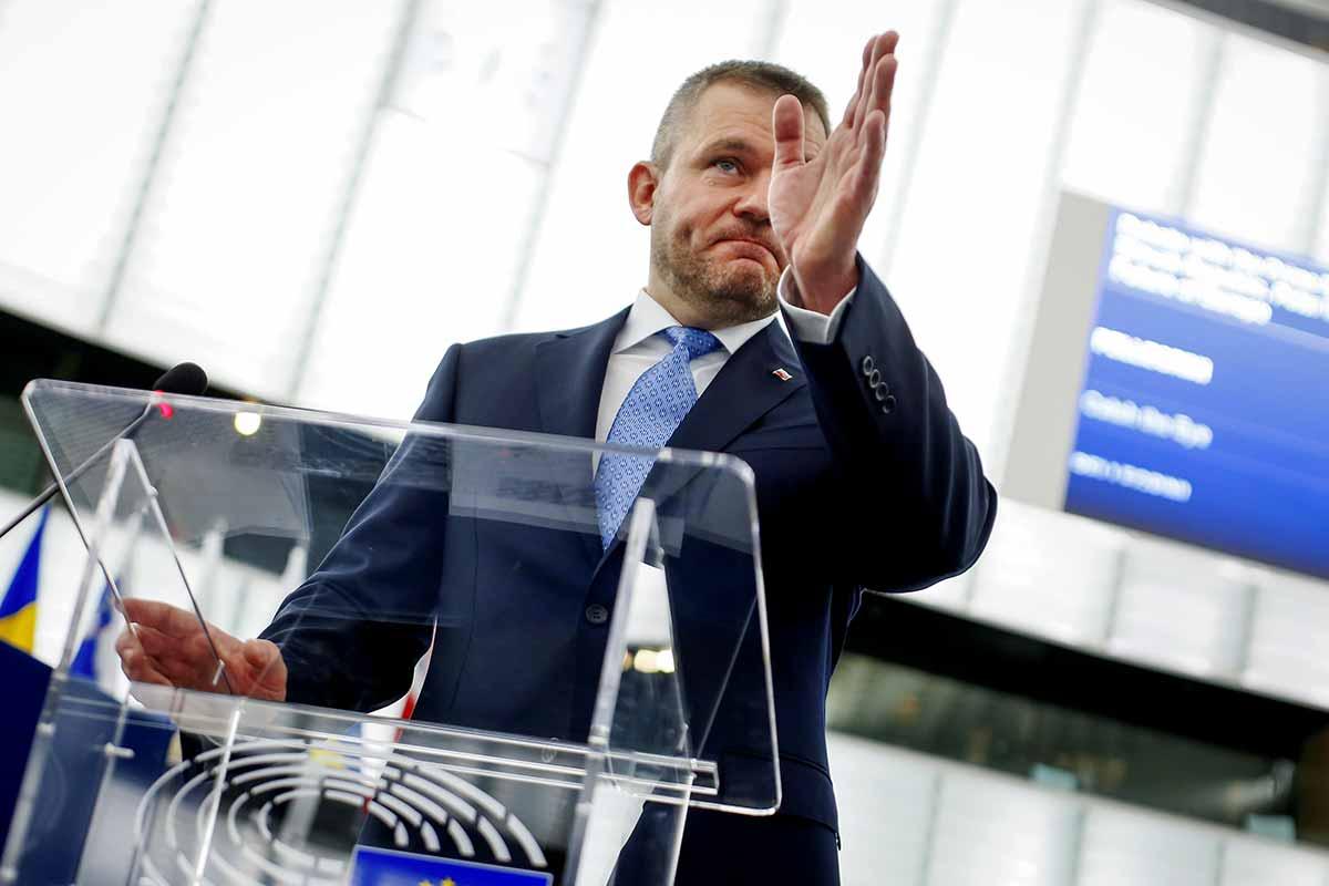Slovak Prime Minister Peter Pellegrini