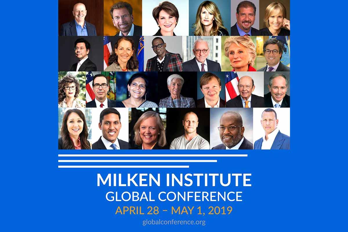 22nd Milken Institute Global Conference #MIGlobal GC-2019-Speaker-Collage