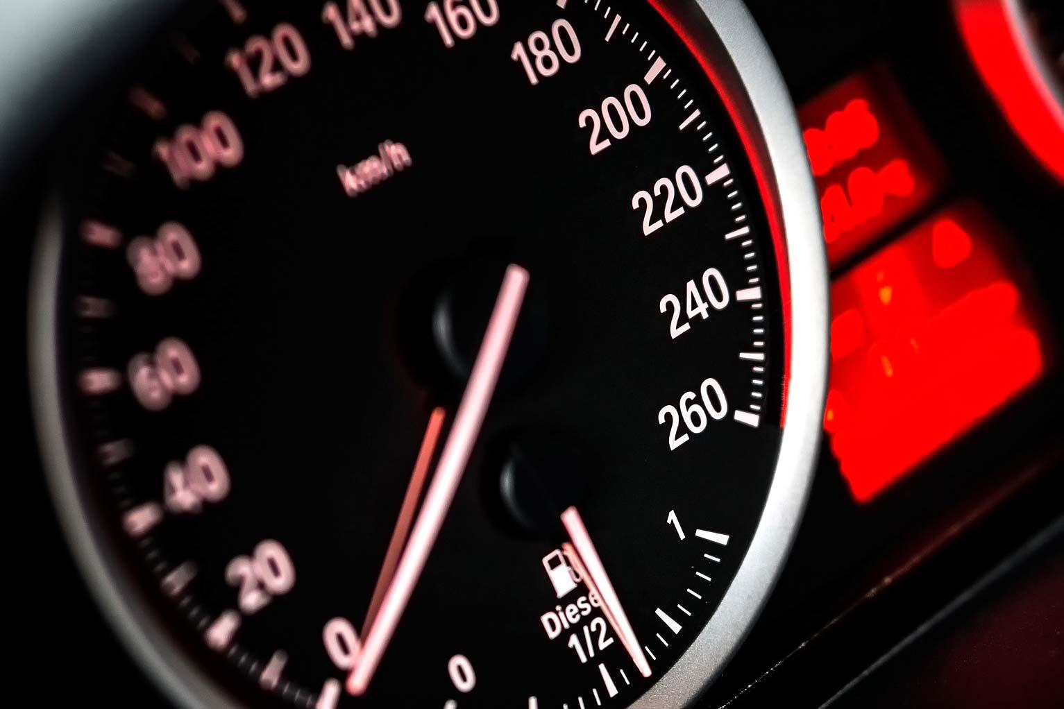 speed meter car limits