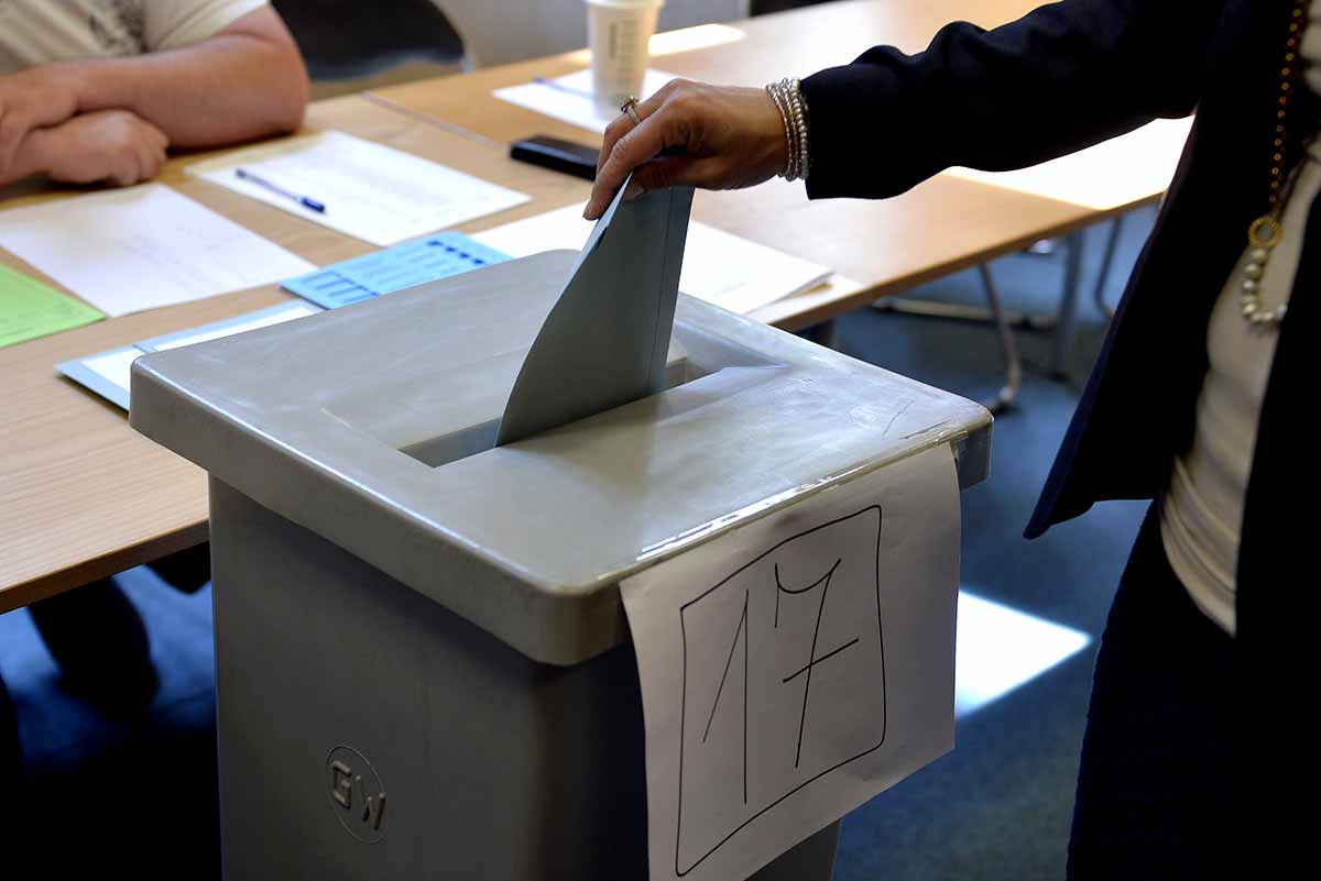 EU elections VOTE