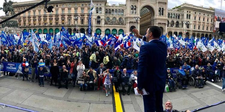Far-right populists join Matteo Salvini