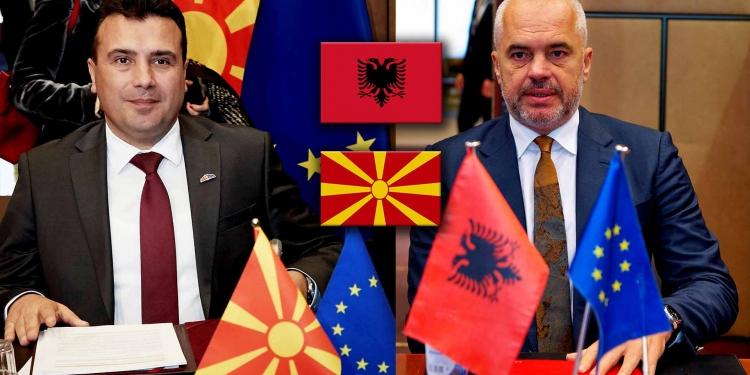 Albania and North Macedonia