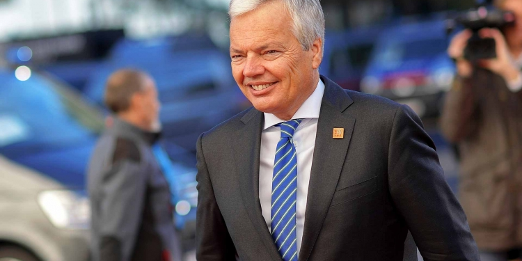 Didier Reynders Commissioner for Justice