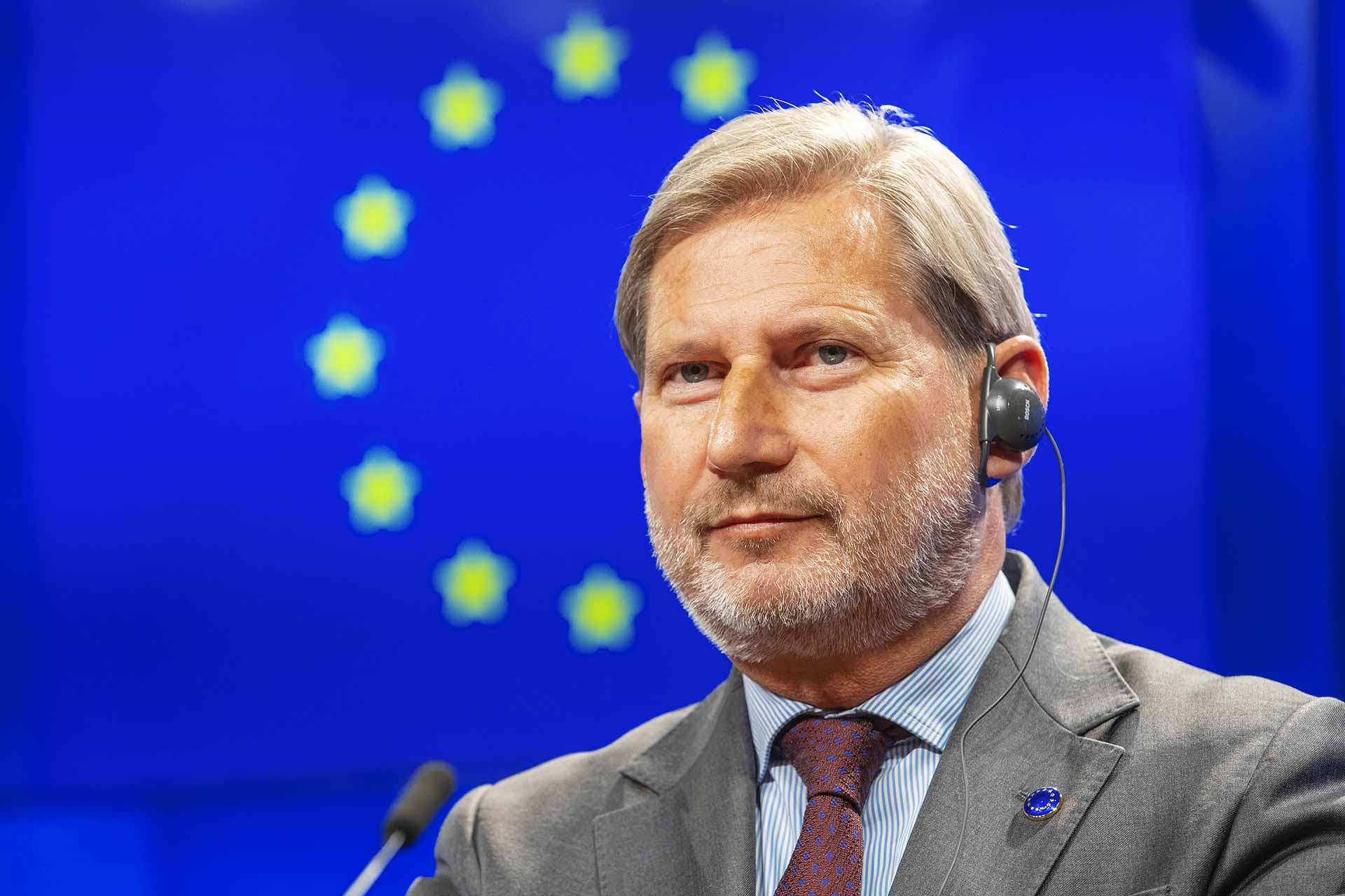 Johannes Hahn Commissioner for Budget and administration