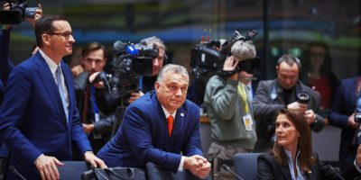 Viktor Orban at the Council of the European Union