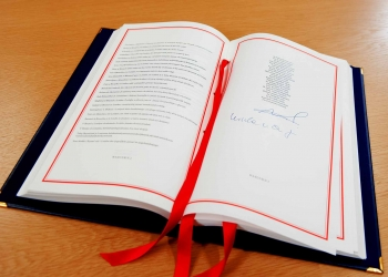Signature of the UK Withdrawal Agreement Brexit