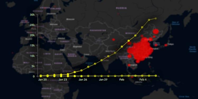 Coronavirus Global Map Statistics coronavirus COVID-19