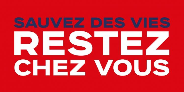 French President Emmanuel Macron: Sauvez des vies, restez chez vous