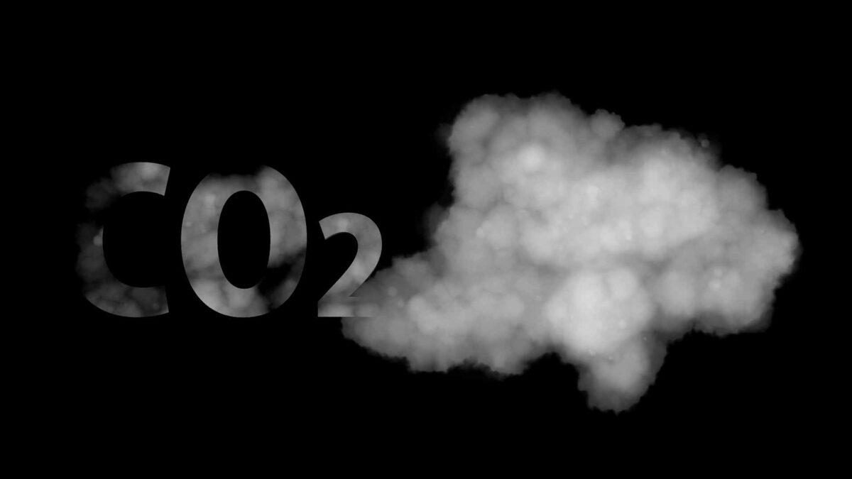 CO2 carbon air smoke pollution