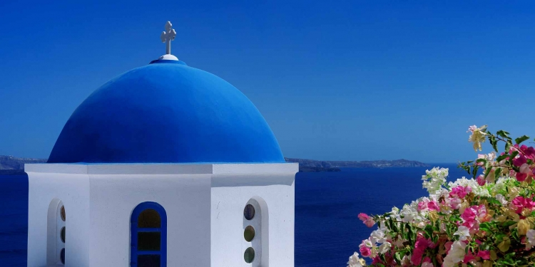 Greece Santorini Tourism Summer