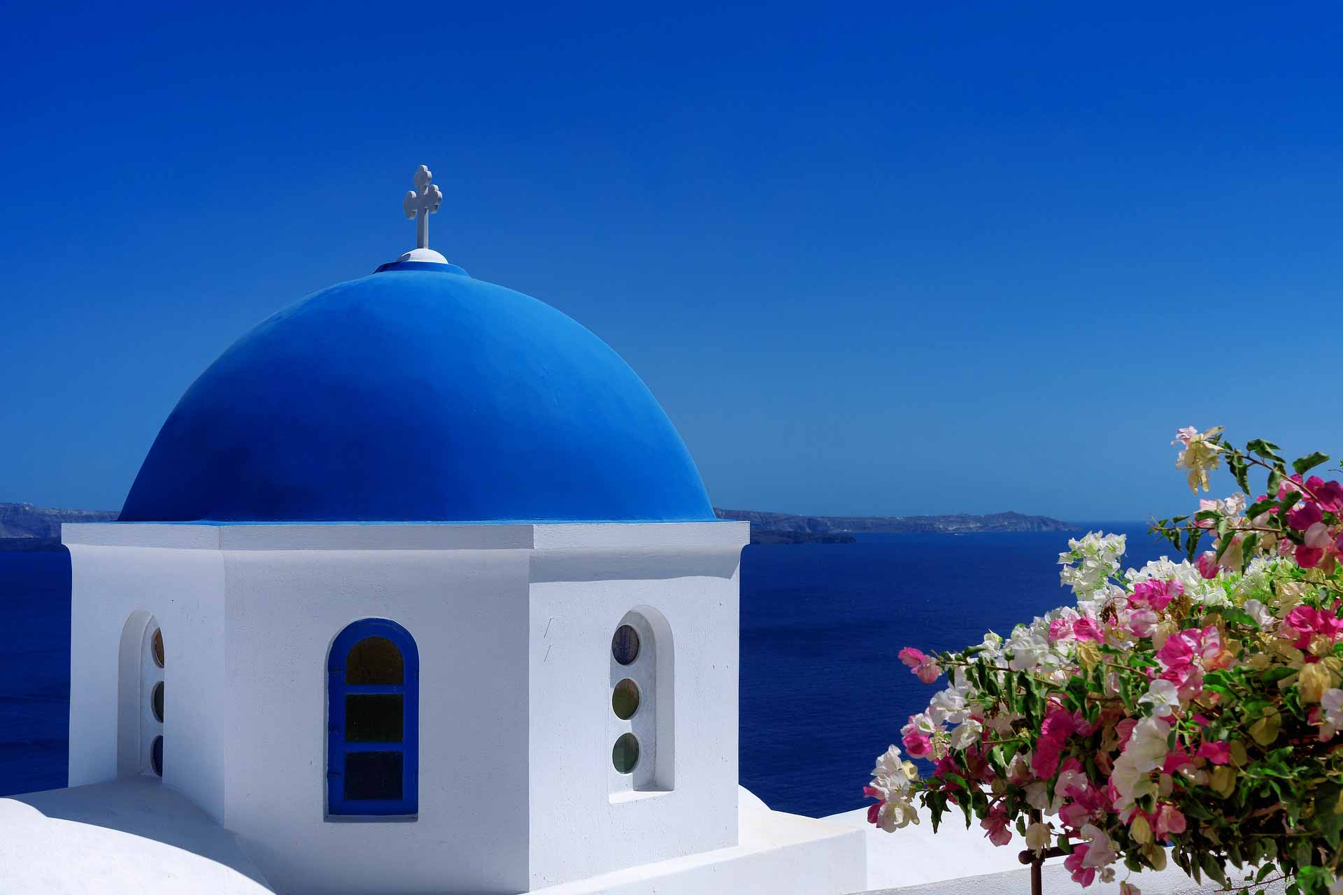 Greece Santorini Tourism Summer