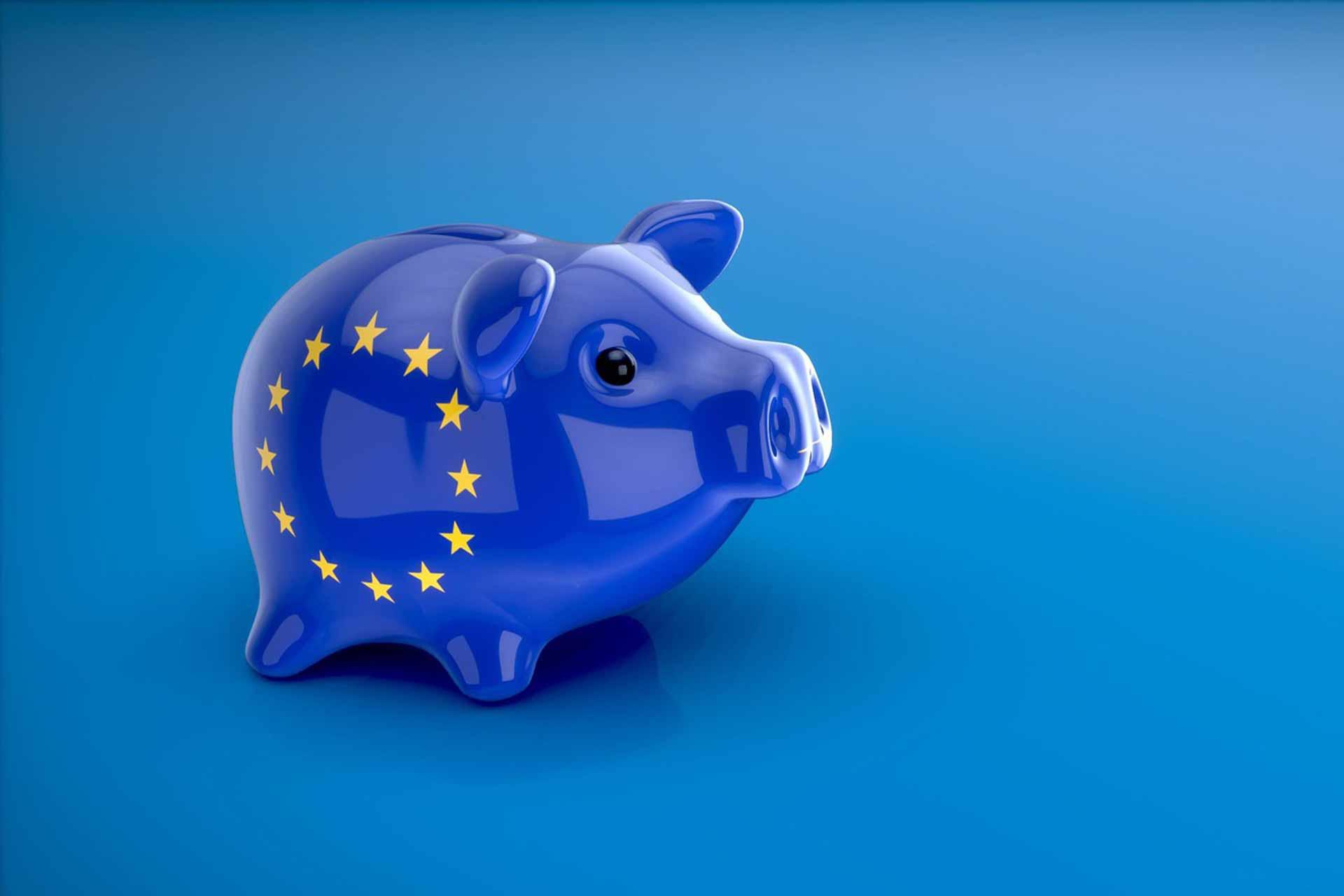 piggy EU euros Economy