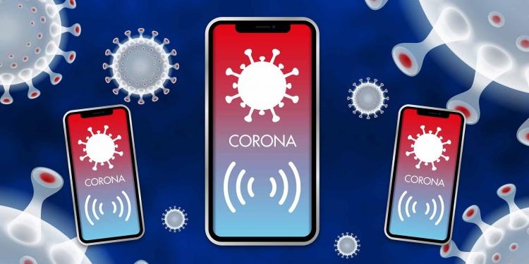 COVID warning App and digital contact tracing