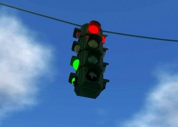 Traffic-light sky