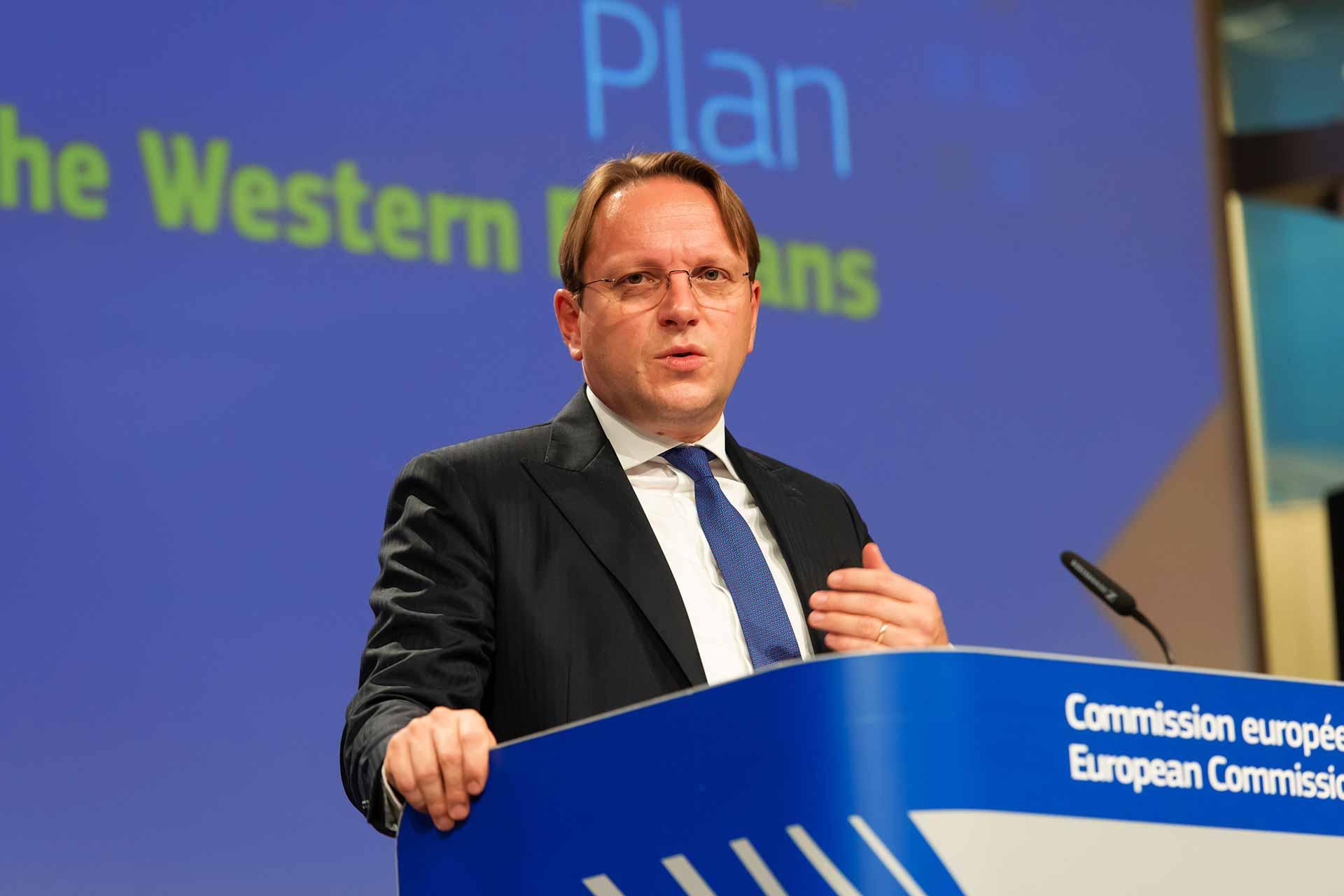 Olivér Várhelyi, European Commissioner for Neighbourhood and EU Enlargement