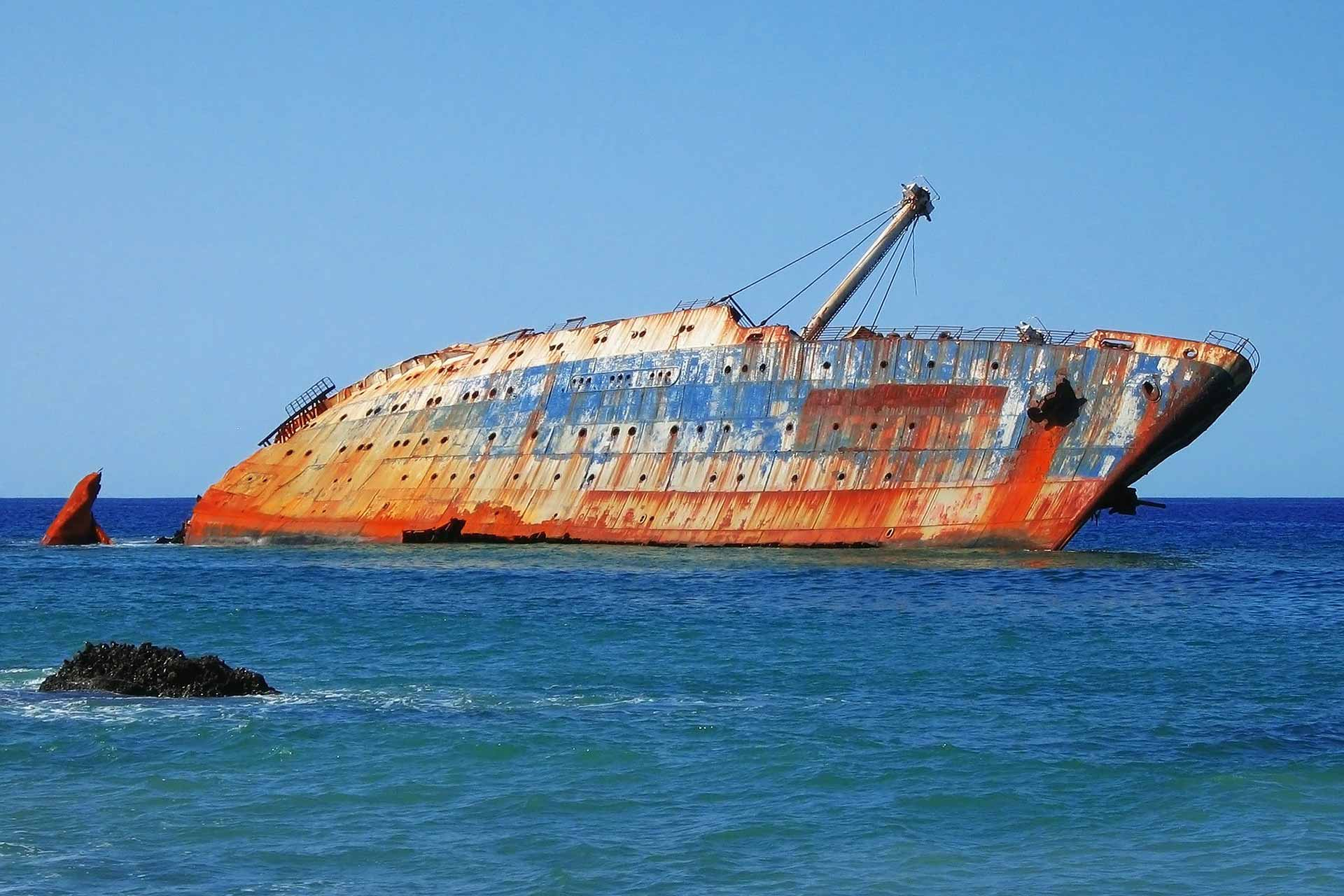 Canary Islands Shipwreck