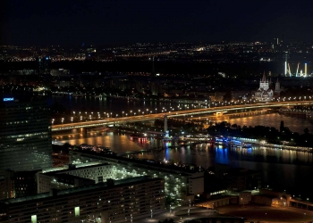 Empire bridge Vienna