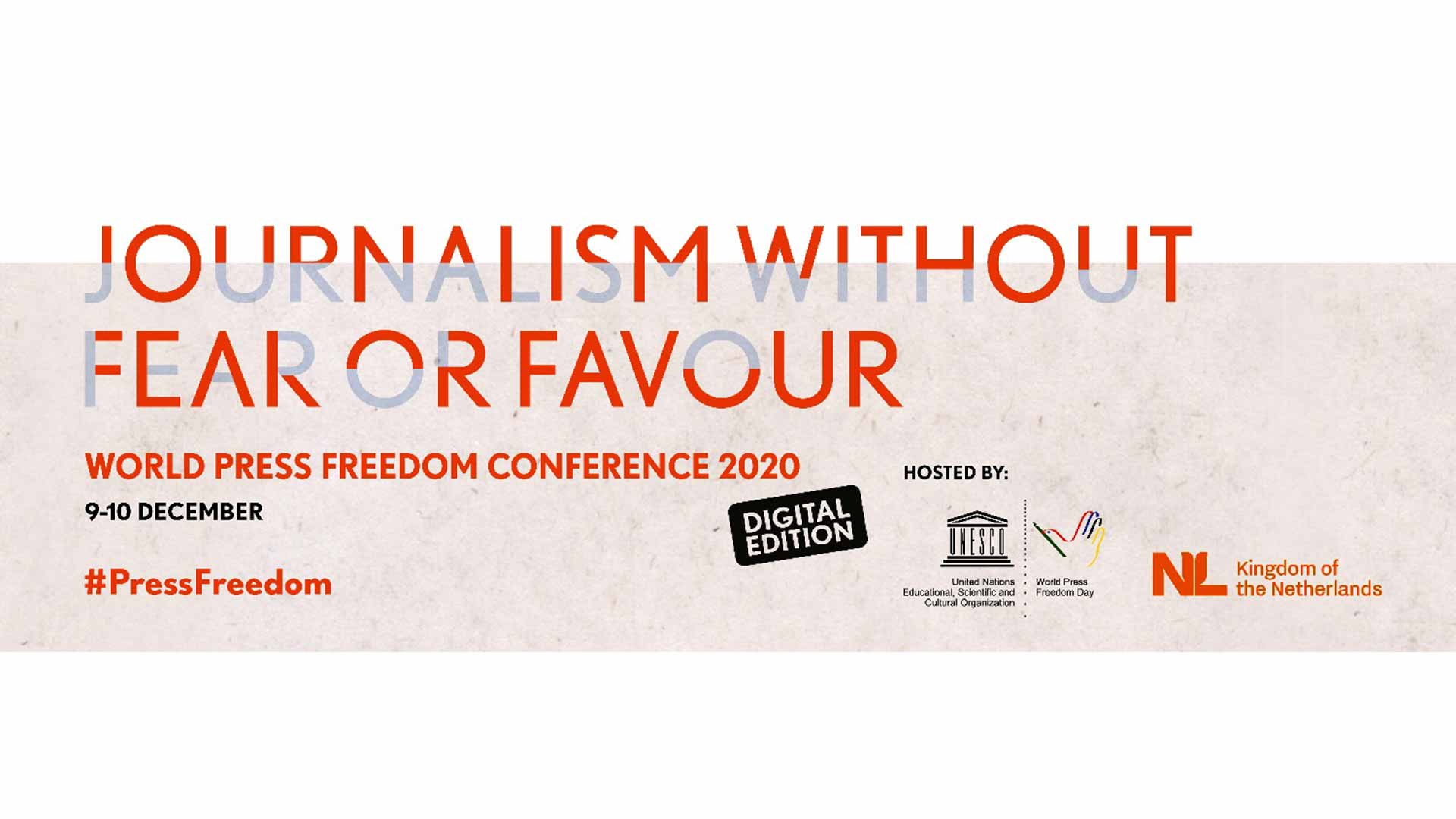 World Press Freedom Conference 2020