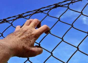 barbed wire fence Human Rights