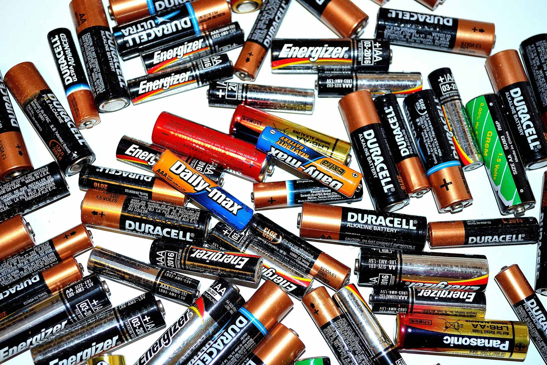battery batteries recycling