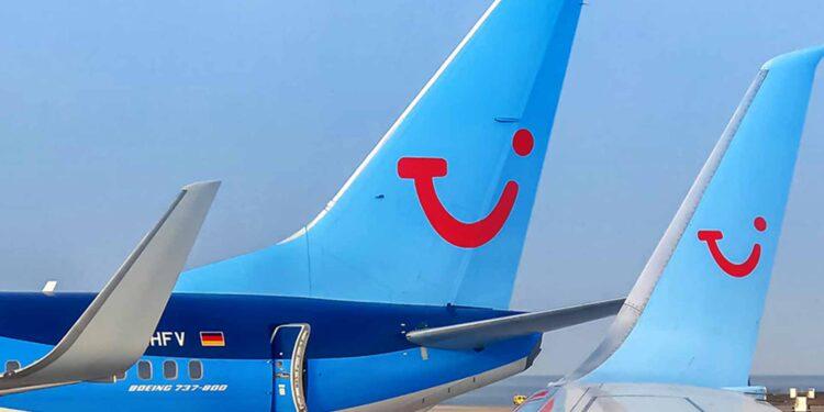TUI flights Travel airplanes Germany