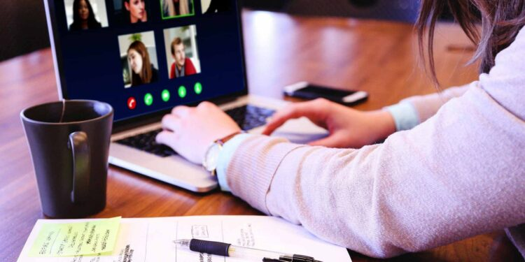 video conference online telework home based workers