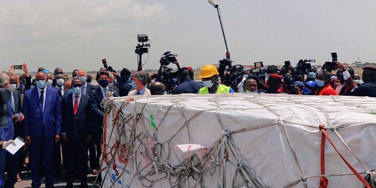 Côte d'Ivoire- Arrival of vaccines, Ivory CoastCôte d'Ivoire- Arrival of vaccines, Ivory Coast