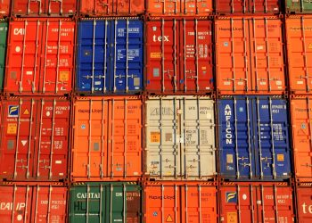 Containers Imports Exports Trade harbor