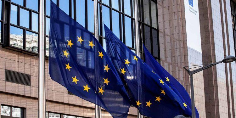 EU flags lowered to half-mast