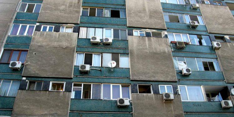 building in Bucharest