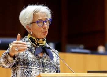 Christine Lagarde, President of the European Central Bank