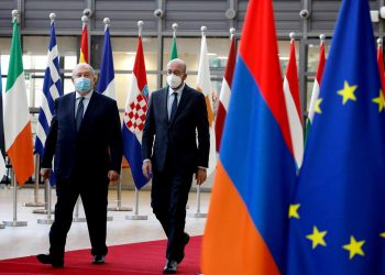 Dr Armen SARKISSIAN, President of Armenia; Mr Charles MICHEL, President of the European Council