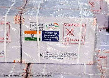India donates 200,000 vaccines to protect UN blue helmets against COVID