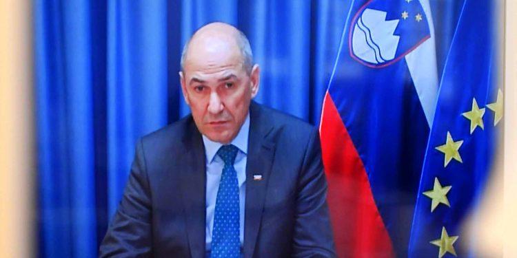 Janez Janša, Slovenian Prime Minister
