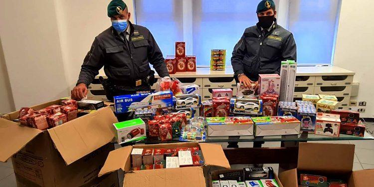 Operation LUDUS Italy fake toys