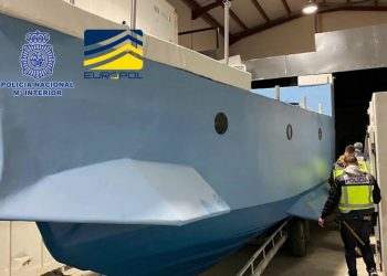 Spanish police seize first ever narco submarine built in Europe