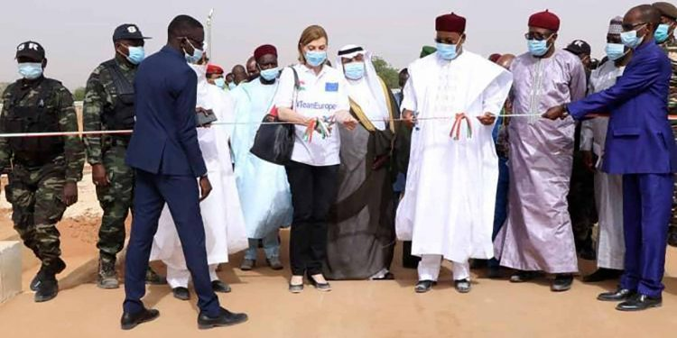 Team Europe welcomes opening of scheme to ensure drinking water for 400,000 people in Niamey