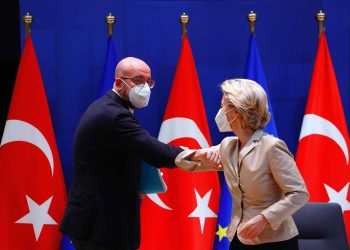 Ursula von der Leyen, Charles Michel after video conference with Turkey