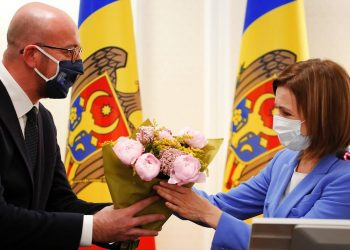 President Charles Michel reiterated the European Union and President Maia Sandu in Moldova
